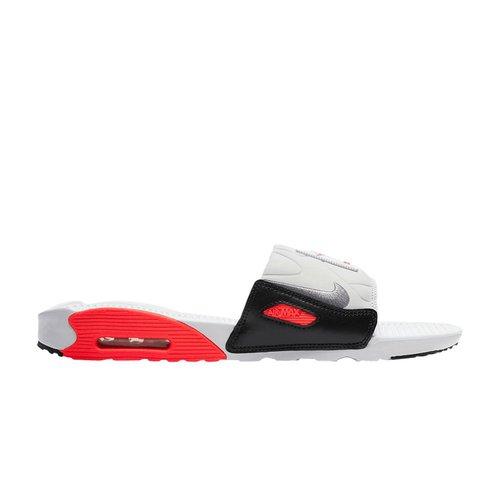 Nike Air Max 90 Slide 'Infrared' - BQ4635-101   Solesense