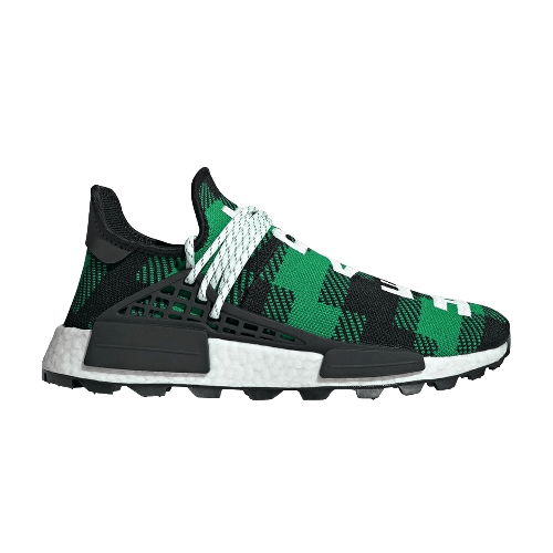 quality design 18d3d 95fd7 adidas Pharrell x Billionaire Boys Club x NMD Human Race Trail 'Green Plaid'