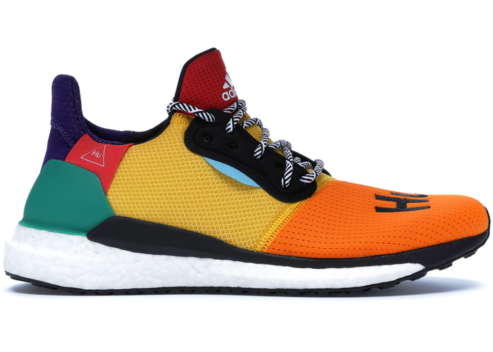 Pharrell X Adidas Solar Hu Glide Power Blue