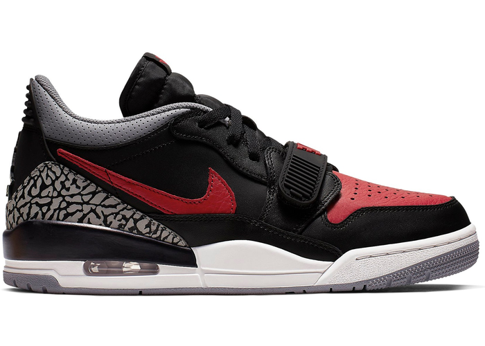 high fashion genuine shoes detailed pictures Air Jordan Legacy 312 Low 'Bred Cement'